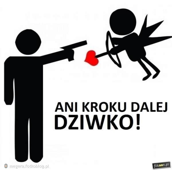 taki stosunek do miłości! :D