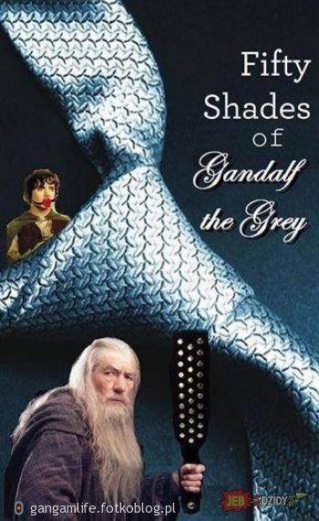 50 twarzy Gandalfa :D