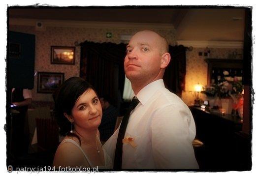 Z moim kochaniem na weselu brata :) :) :)