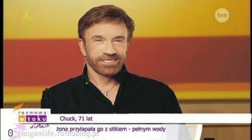 Chuck, no co ty ?