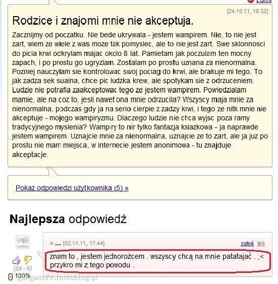 Debilizm polskich nastolatek nie ma granic.