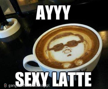 napilibyscie sie takiej latte?