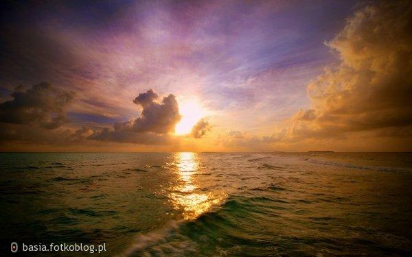 zachód śłońca