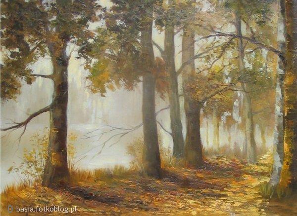 jesienna mgła...lecz czasem za nią jest ktoś ..na kogo czekamy