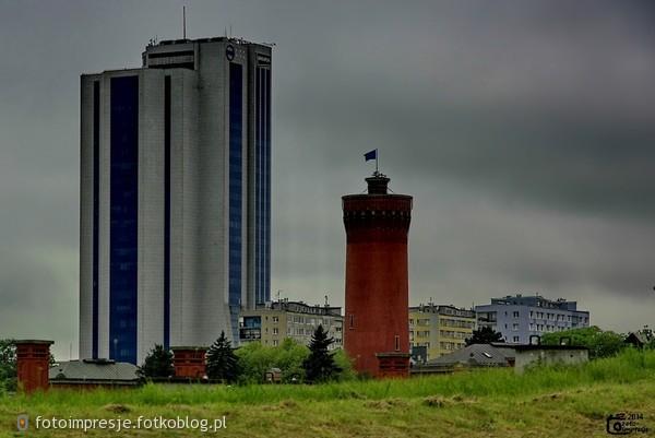 Dwie wieże.