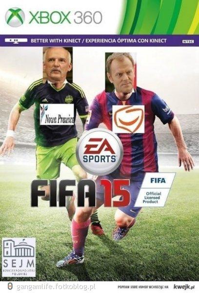 Nowa okładka Fifa 15 ! Już w sklepach :)