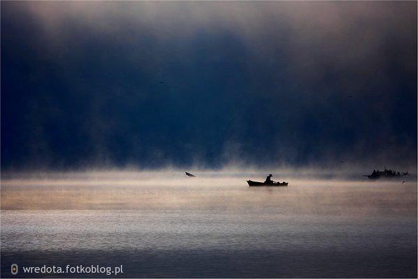 samotnie na łódce....
