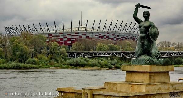 Pocztówka z Warszawy.