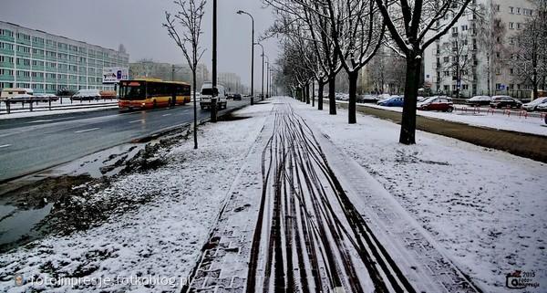 Zima w mieście...