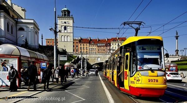 Widokówka z Warszawy