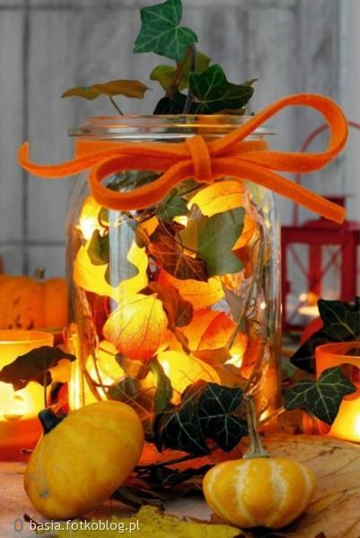 jesienna dekoracja..