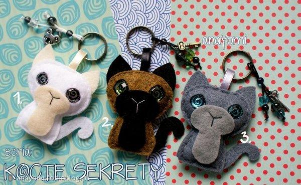 brelok kot - kocie sekrety