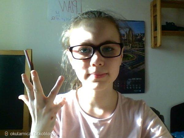 ja w moich nowych okularach