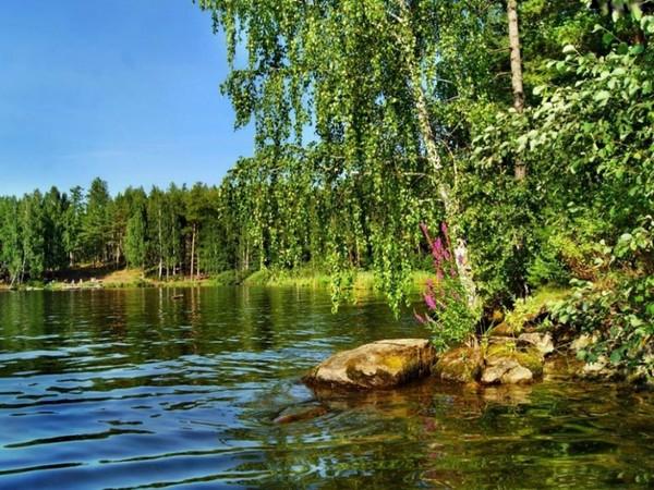 nad jeziorem..udany wypoczynek