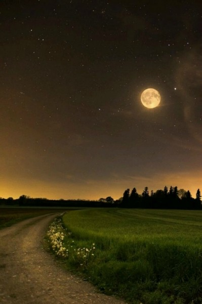 magia wieczoru..