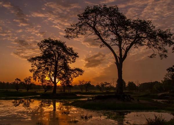 Kocham zachody słońca..