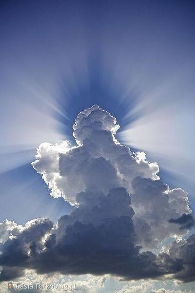 patrząc w niebo....
