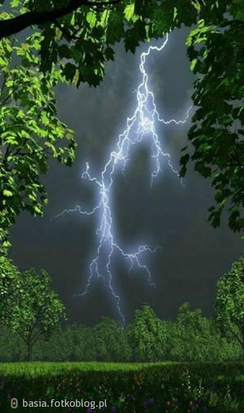 Burza może być niebezpieczna, ale za to jaka piękna...