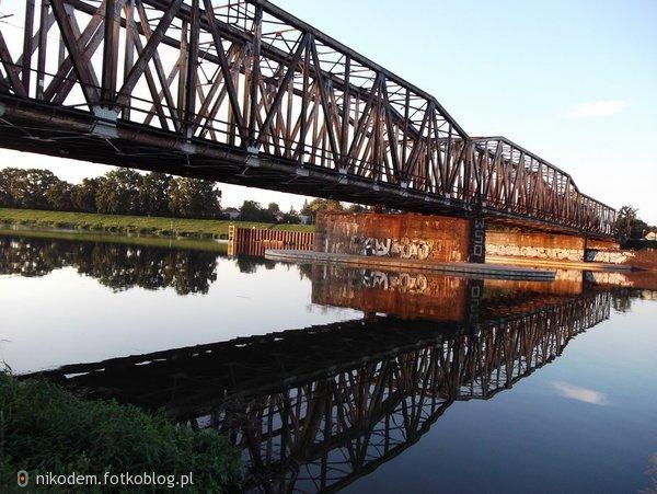 Wrocław, most kolejowy.