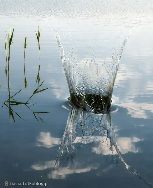 Bądź jak woda – przystosowuje się do każdego naczynia, a może zniszczyć skałę.