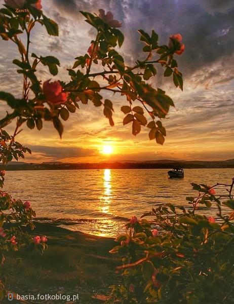 ..nad jeziorem..wieczorny relaks