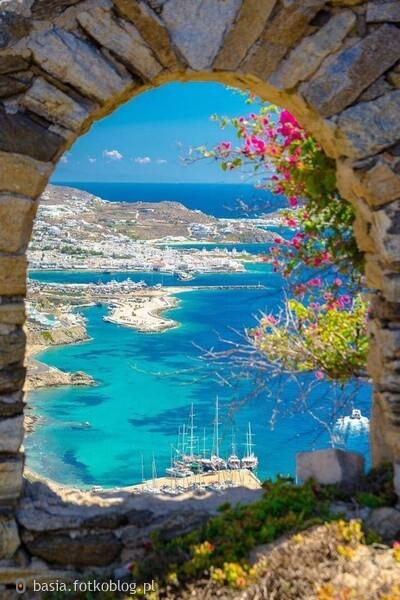 Mykonos,,grecka wyspa