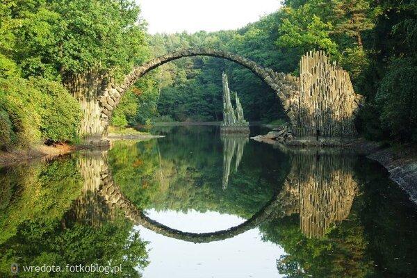 Most Rakoczego w Kromlau