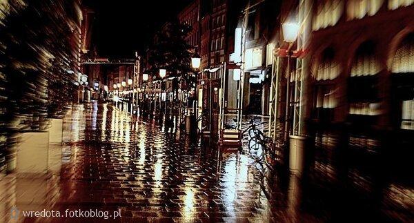 deszczowe zjawisko...Monachium nocą