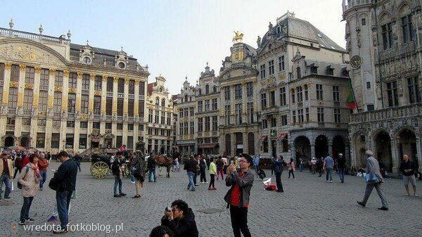 ..Rynek w Brukseli teraz idziemy do Donka....