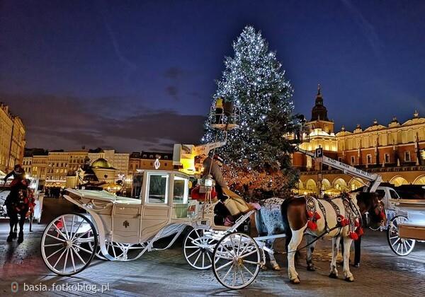 wieczorna pocztówka z Krakowa...