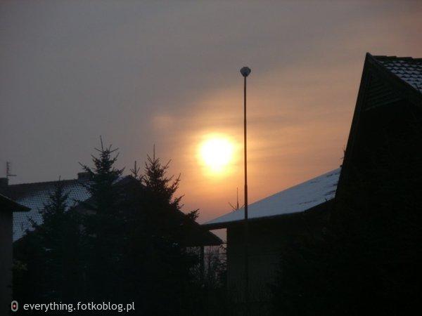 Zachód słońcaa