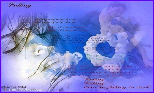 """"""" Falling """"  Czas nie leczy ran... on tylko przezwyczaja nas do bólu..."""