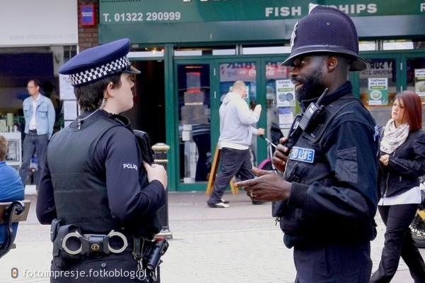 Policjanci z Dartford