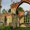 Wieś Jałówka / Podlasie  :: Ruiny koscioła św. Antoniego. Z tego miejsca jest juz tylko około dwieście metrów do