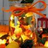 jesienna dekoracja..  :: Jesień może kojarzyć się z pluchą, deszczem i  niekończącym się przeziębieniem. Może, ale