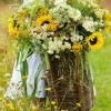 ...z koszem kwiatów..  ::