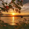 ..nad jeziorem..wieczorny relaks  ::