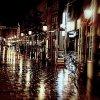 deszczowe zjawisko...Monachium nocą  ::