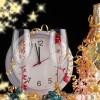Nowy Rok  :: Płoną sztuczne ognie, płynie już muzyka,idzie Nowy Rok, stary już umyka,więc wznieśmy puchary, tańcz